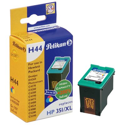 Pelikan H44 HP CB338EE No 351XL Color Compatible