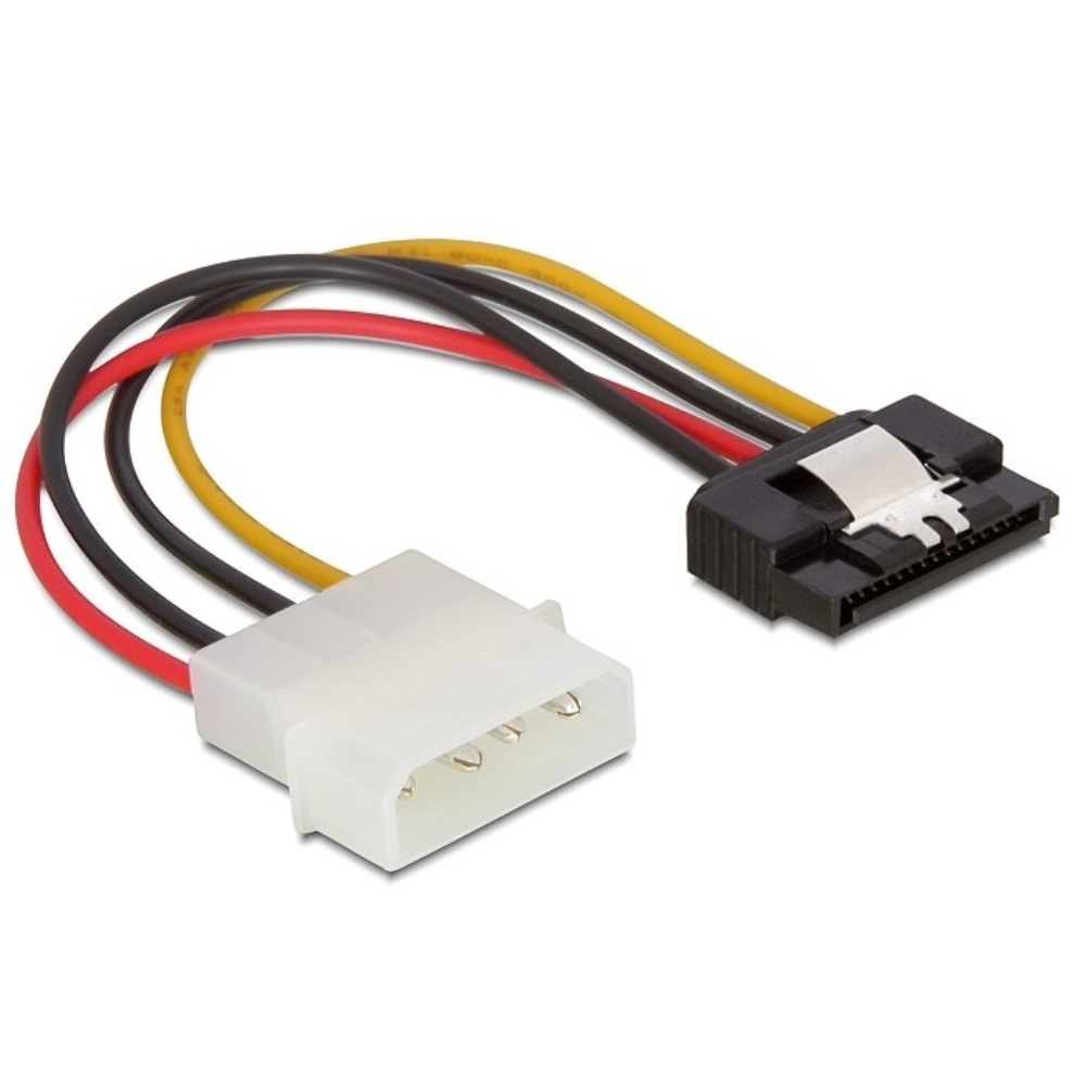 Delock Power Cable SATA > Molex 4pin Male 15cm (60120)