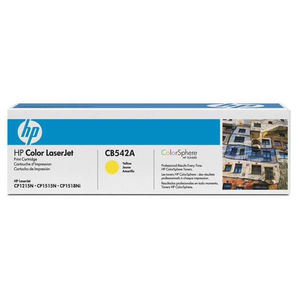 Hewlett Packard Toner CB542A Yellow 1.4K