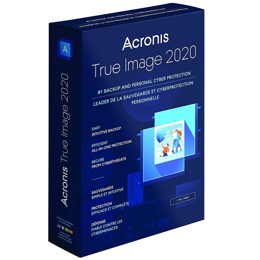 Acronis True Image 2020 Standard 1 Computer ESD