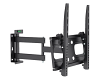 Brateck PA-944 Heavy Duty Full Motion TV Wall Mount Black
